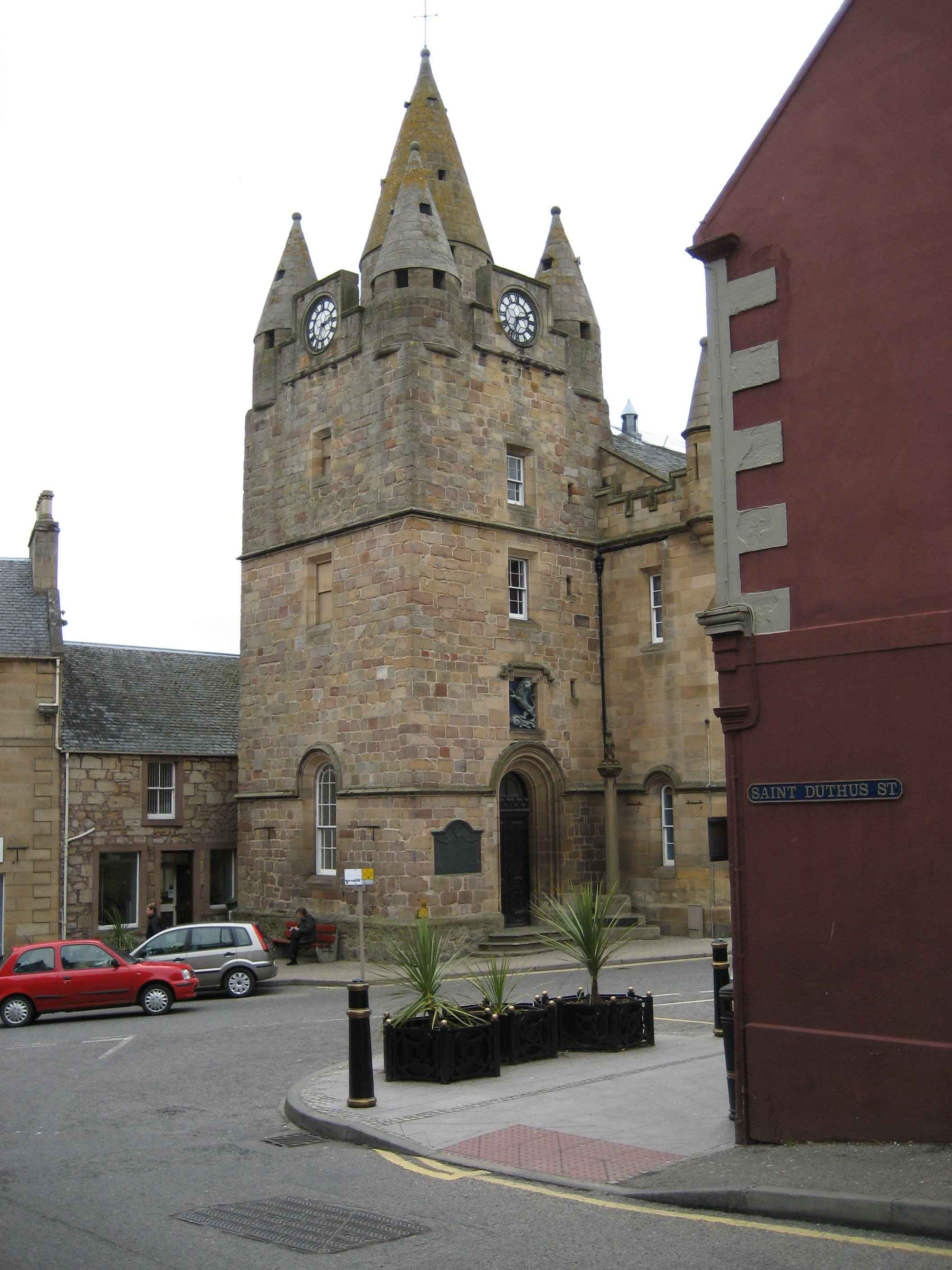 Tain tolbooth